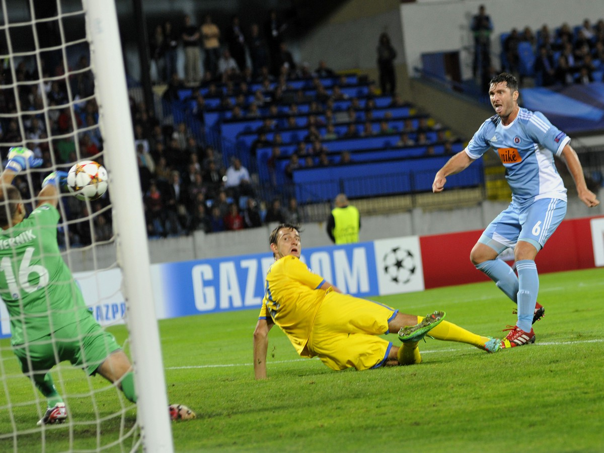 Slovan zvládol vstup do Ligy majstrov: Výborný druhý polčas a nečakaný úder Vitteka