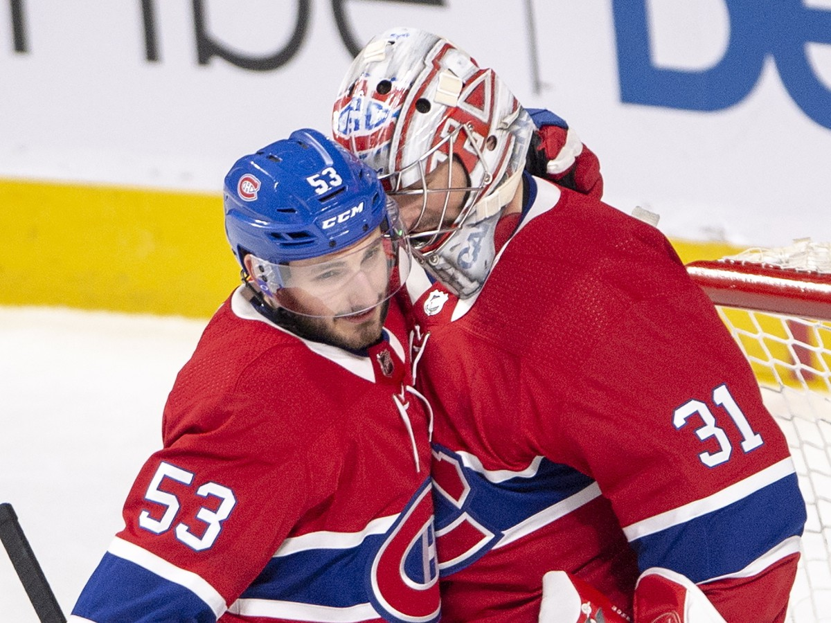 Carey Price a Victor Mete
