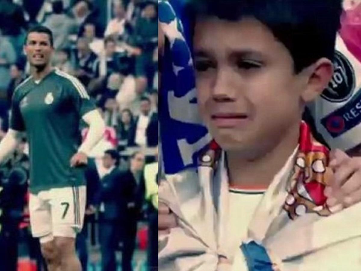 VIDEO Ronaldo rozplakal malého fanúšika: Ten na veľké gesto hviezdy Realu do smrti nezabudne!