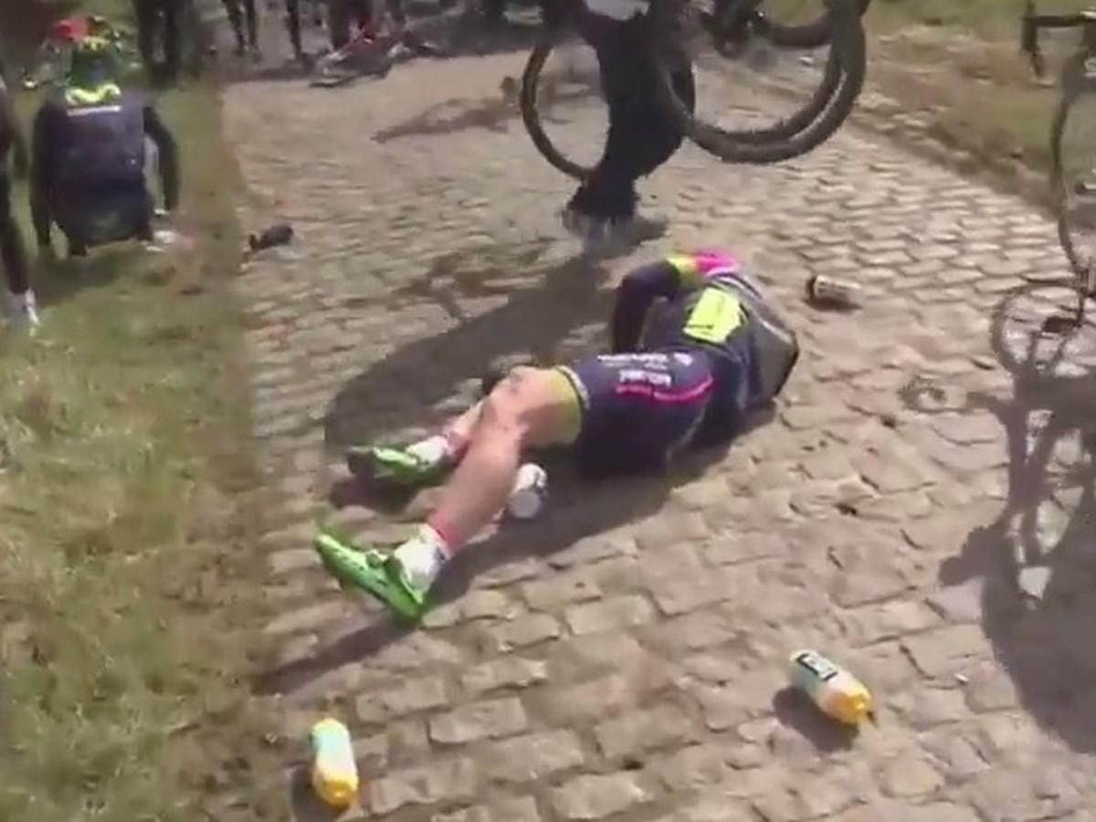 VIDEO Hrôzostrašný pád na belgických pretekoch: Cancellara má zlomené stavce!