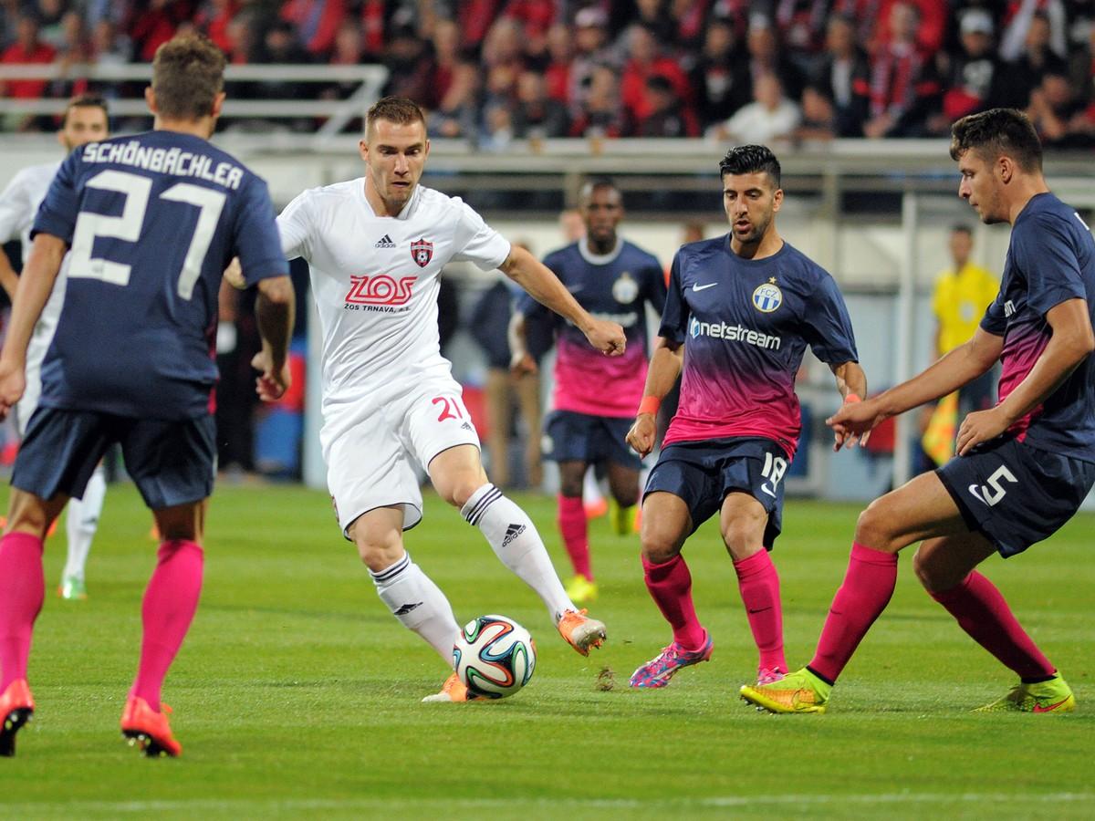 Postupová nádej sa rozplýva: Trnava v boji o Európsku ligu inkasovala tri góly