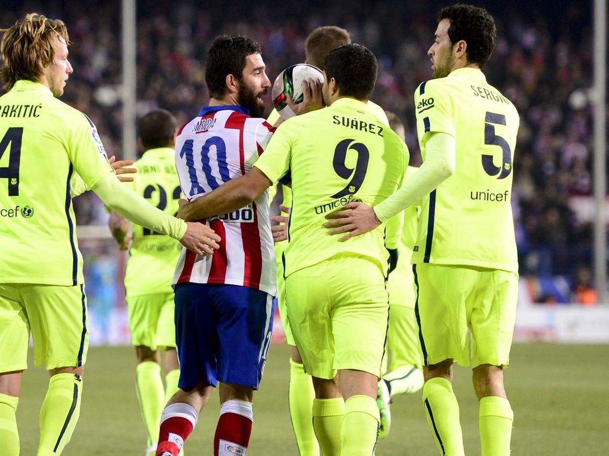 VIDEO V šlágri Barcelony s Atléticom to vrelo: Pozrite sa na skratovú reakciu domácej hviezdy