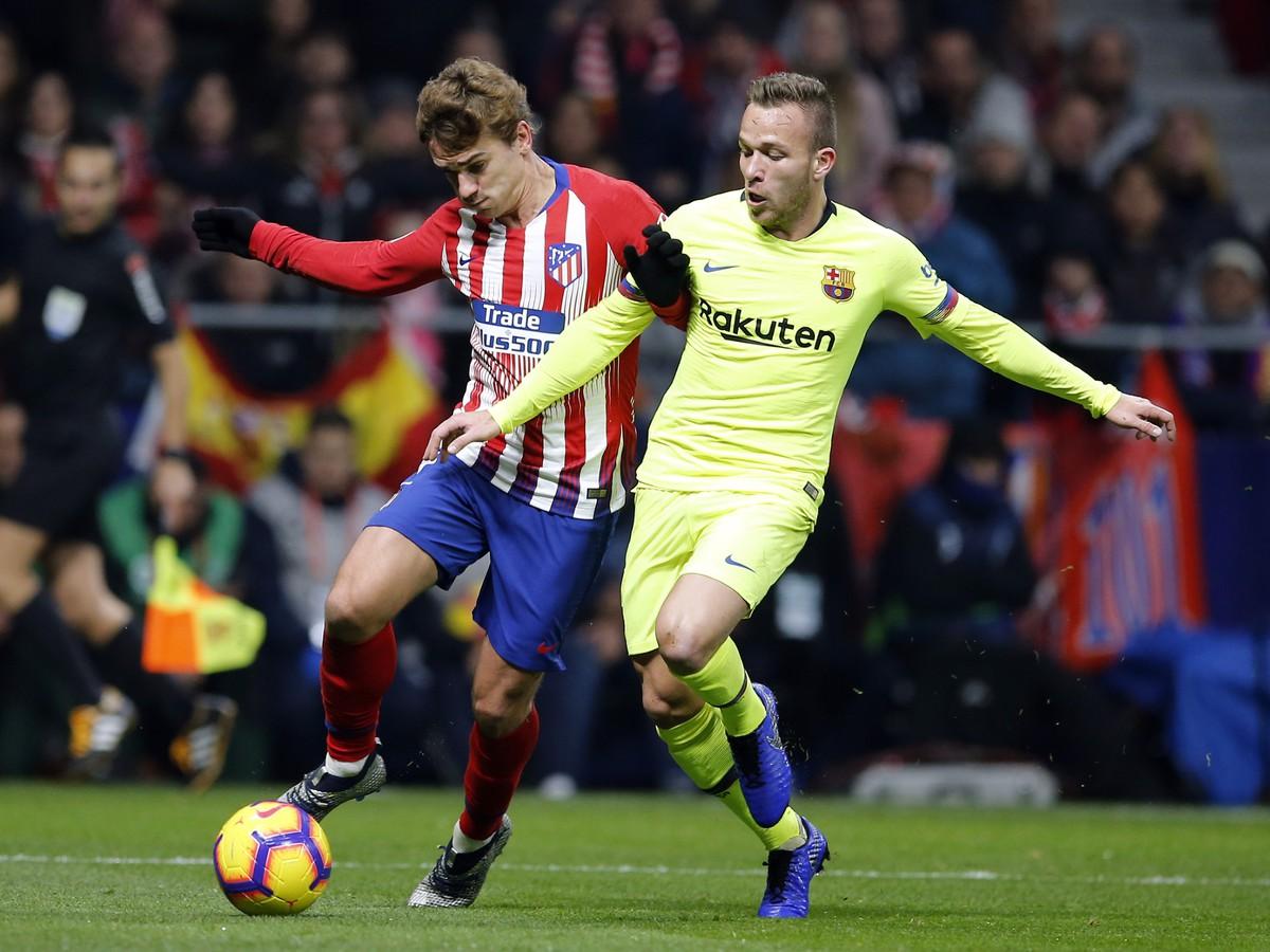 41c4cc65dca1b VIDEO Barcelona v závere zachraňovala bod s Atléticom: Remíza je pre ...