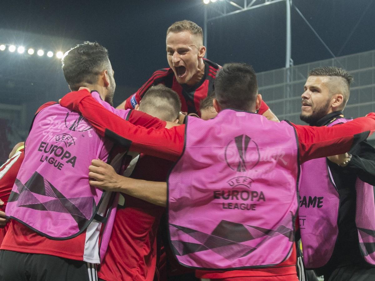 e307e47624 VIDEO Fantázia  Trnavský Spartak senzačne zaskočil belgického ...