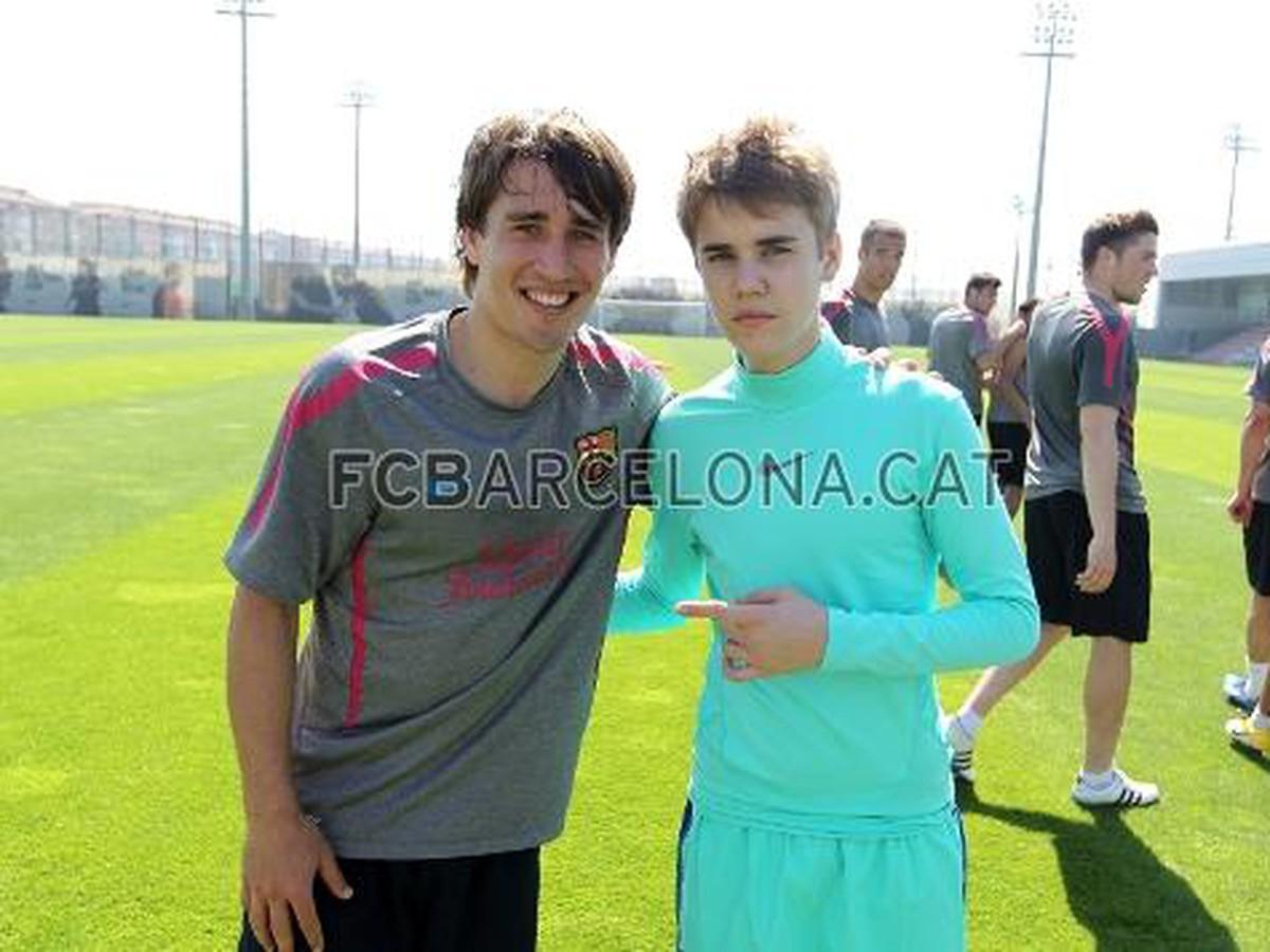 8c1ca59b7355a VIDEO Spevácky idol Bieber trénoval s Barcelona   Športky.sk