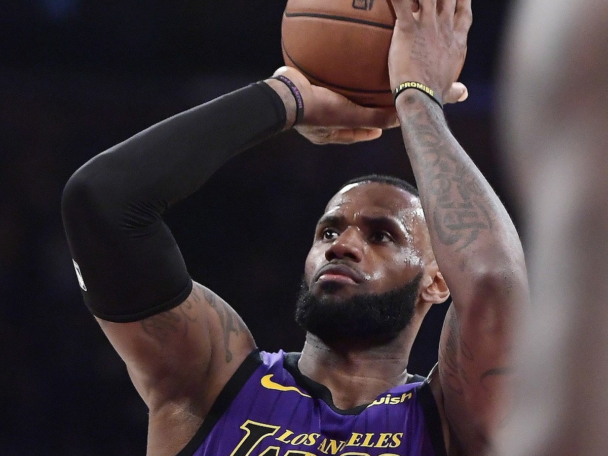 Basketbalista Los Angeles Lakers LeBron James
