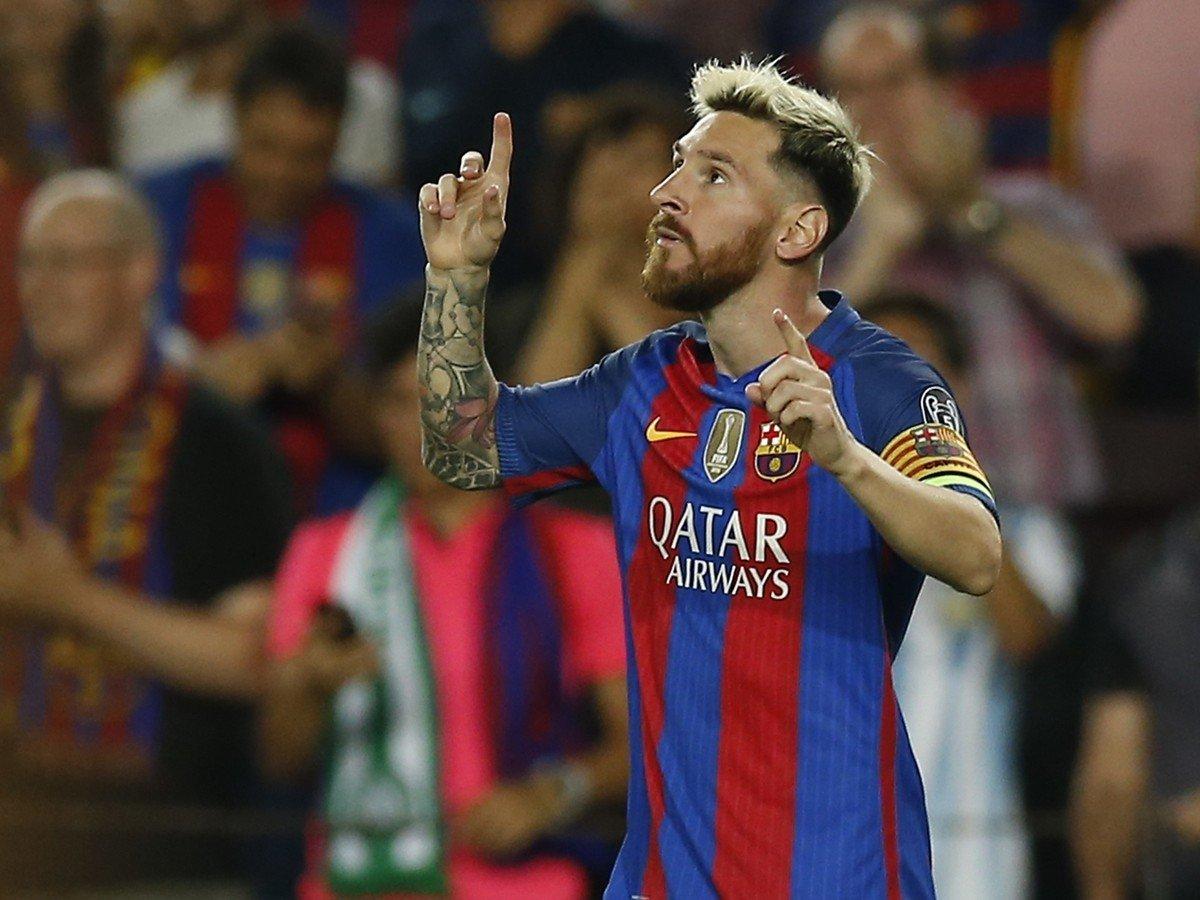 e37d9160cc1fb VIDEO Barcelona odčinila ligovú blamáž totálnou demoláciou: Messi sa ...