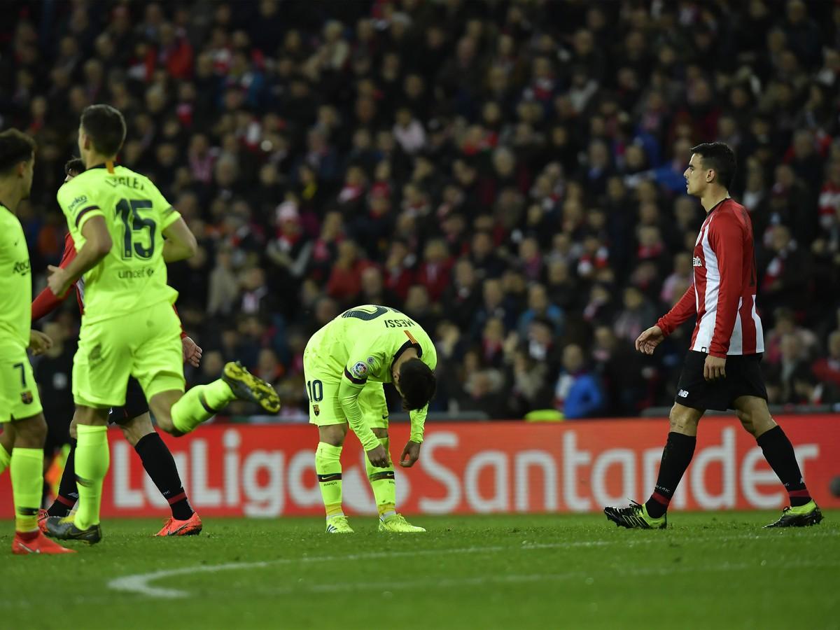 5a453a04d7aac VIDEO Barcelona si odváža z Bilbaa iba bod: Katalánci sa zmohli len ...