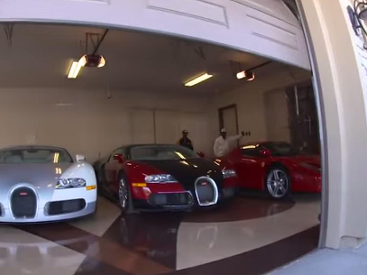 VIDEO Vozový park najbohatšieho športovca planéty: Pozrite, čo má Mayweather v garáži