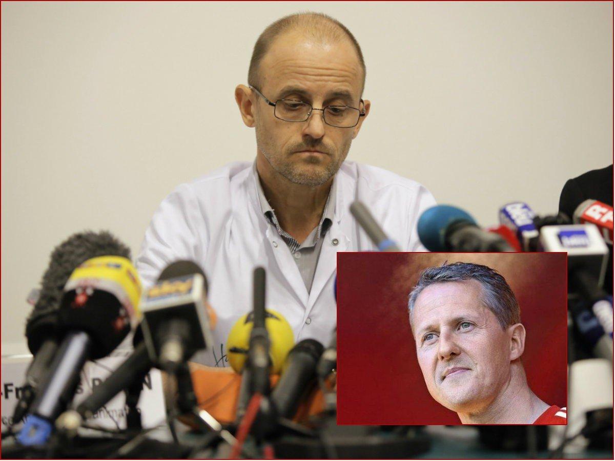 Schumachera ošetroval, keď bolo najhoršie: Po návšteve pilotovej rodiny prišlo sklamanie