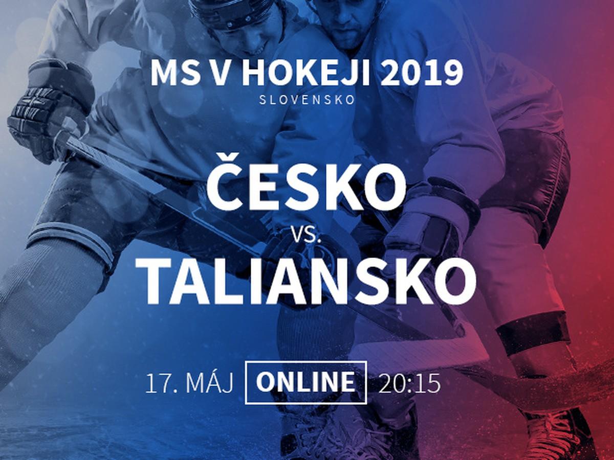 cc0eccfde6818 Česko - Taliansko: Online prenos z MS v hokeji 2019 | Športky.sk