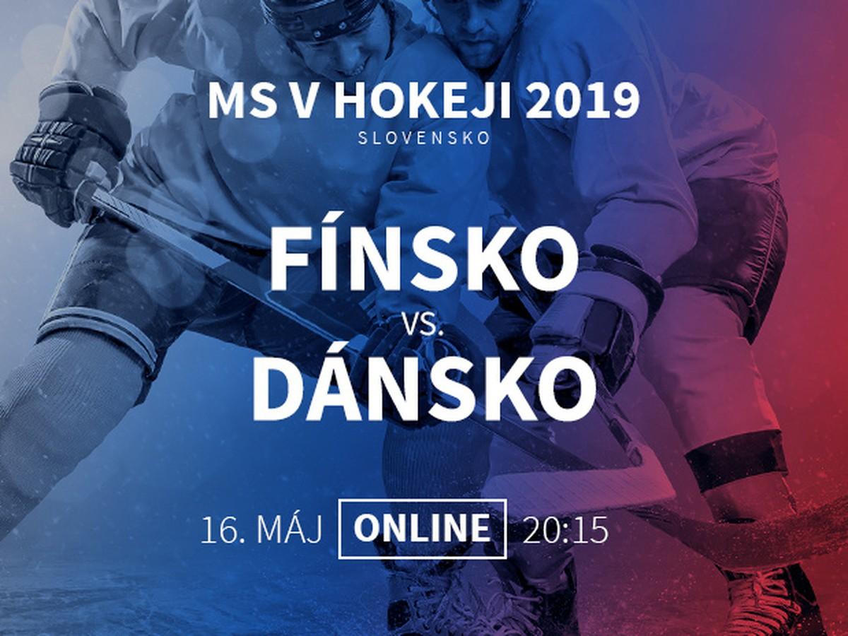 087d4bf9b79d5 Fínsko - Dánsko: Online prenos z MS v hokeji 2019   Športky.sk