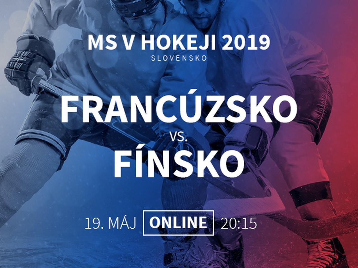 deca5679ebd11 Francúzsko - Fínsko: Online prenos z MS v hokeji 2019   Športky.sk