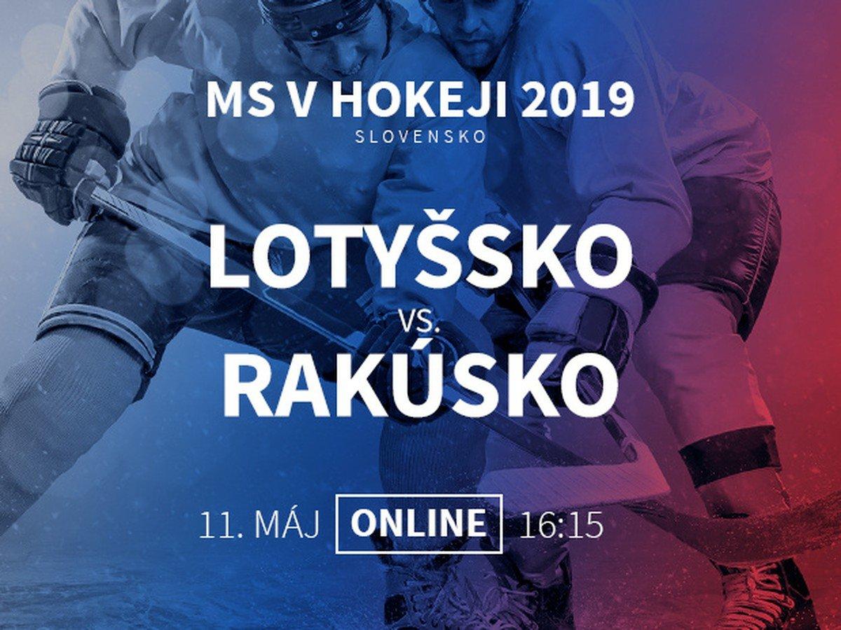 41977586c95e2 Lotyšsko - Rakúsko: Online prenos z MS v hokeji 2019 | Športky.sk