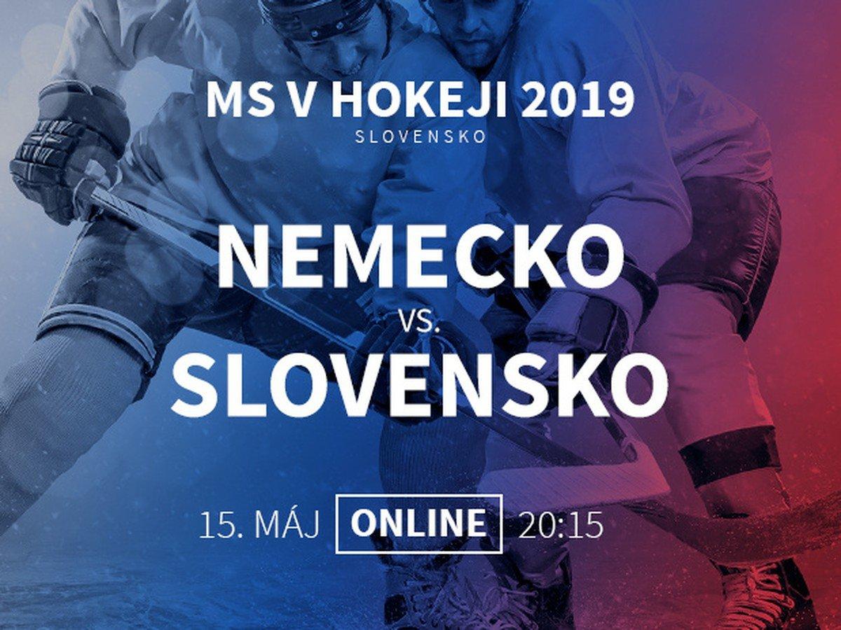 1c40607591211 Nemecko - Slovensko: Online prenos z MS v hokeji 2019 | Športky.sk