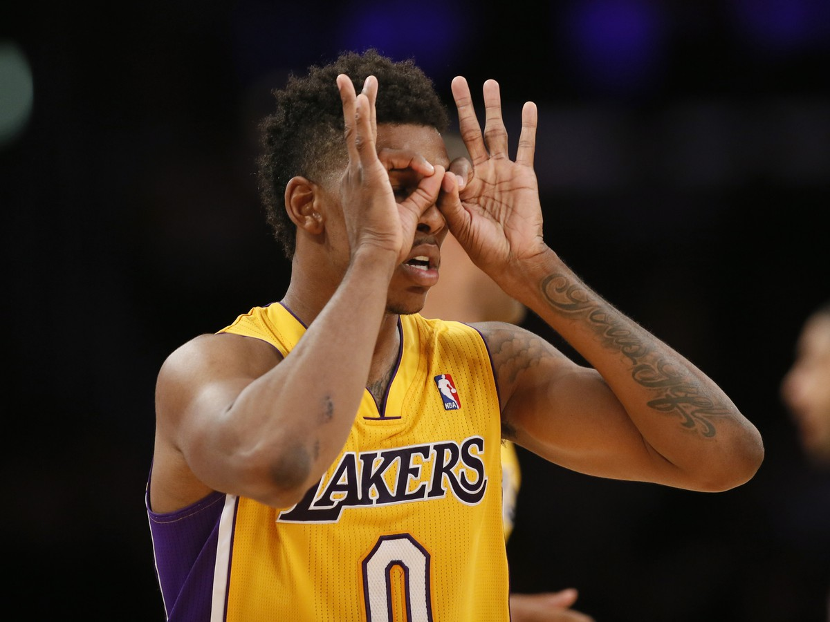 Útočník Los Angeles Lakers Nick Young