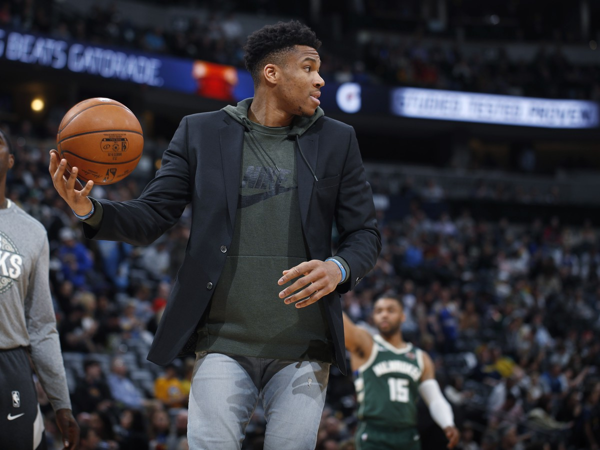 Útočník Milwaukee Bucks Giannis Antetokounmpo