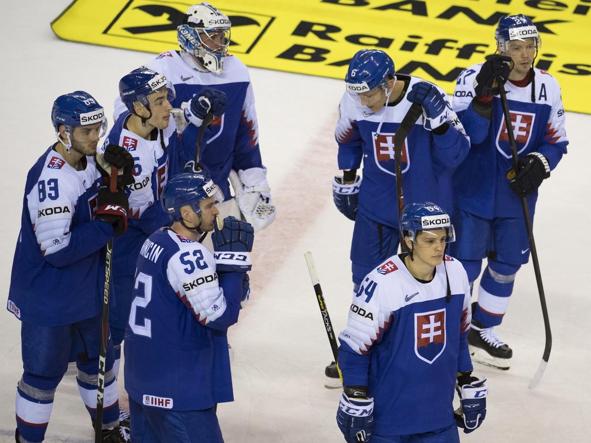 023455ee79432 VIDEO Celé Slovensko smúti! Hokejisti po skvelom výkone opäť ...