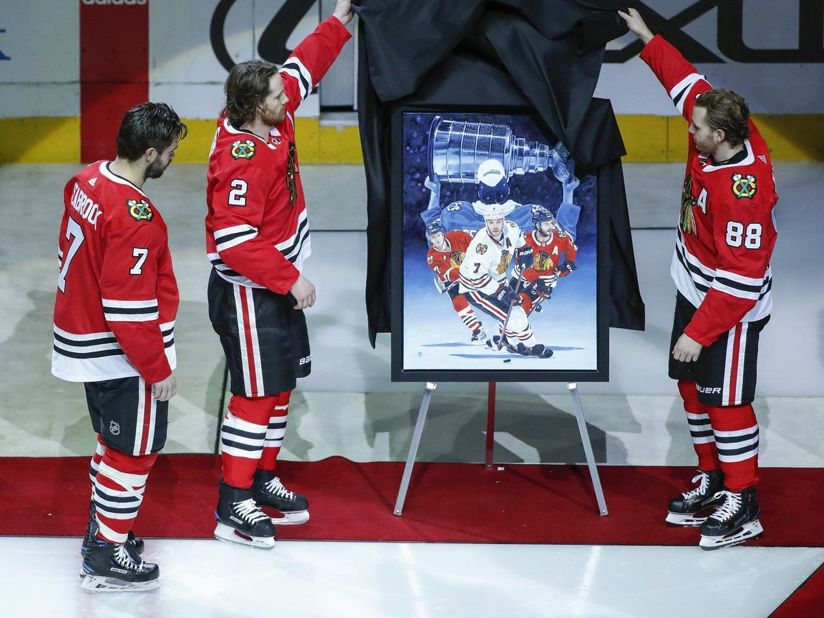 Brent Seabrook a Duncan Keith