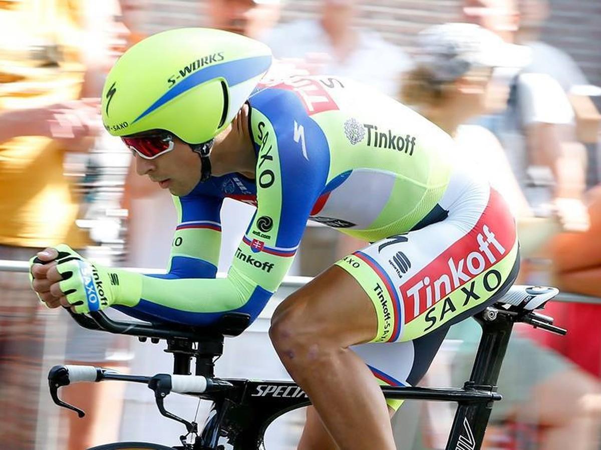 8415c27e15754 Peter Sagan Peter Sagan. RICHMOND - Ambície družstva Tinkoff-Saxo v tímovej  časovke ...