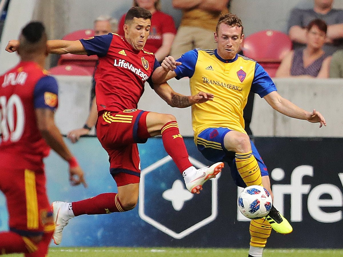 Real Salt Lake remizoval s Coloradom