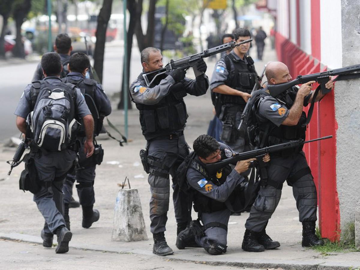 Neozbrojená polícia