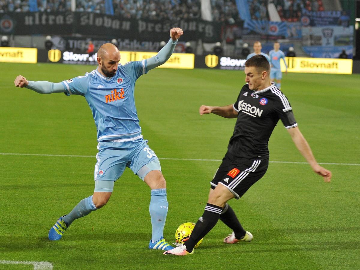Slovan si náskok neubránil: Trenčín získal trofej po rozprávkovom závere zápasu