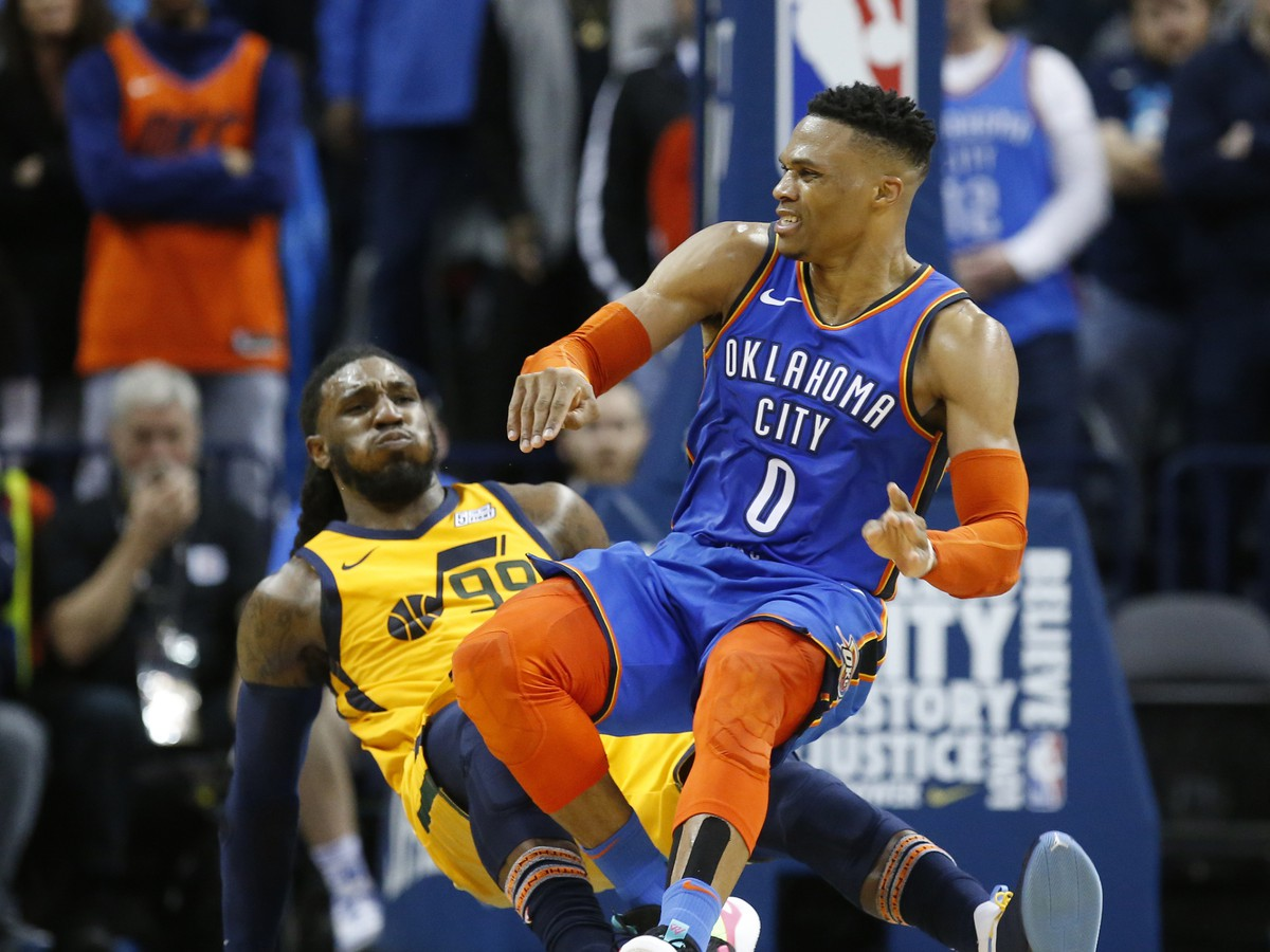 Russell Westbrook a Jae Crowder