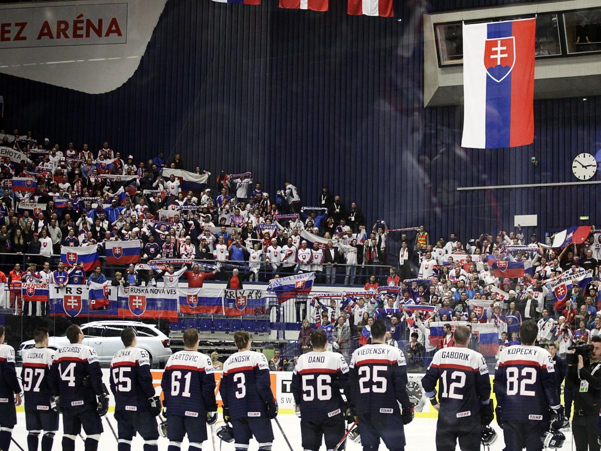 Slovensko – Bielorusko: Online prenos z MS v hokeji