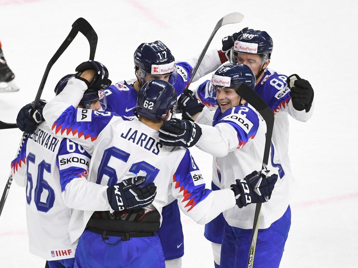 31a21910c25b2 VIDEO Prvá výhra na šampionáte! Slovensko sa proti Rakúsku vytrápilo ...