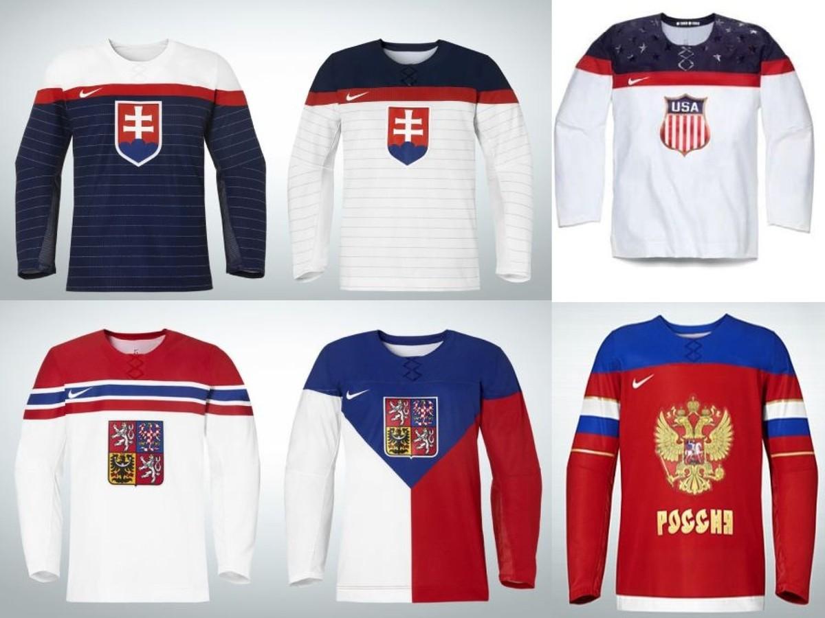 9c44bd1181d Olympijské dresy hokejistov Slovenska