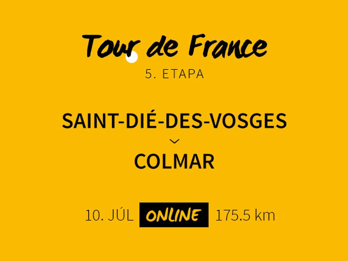 5 etapa na tour de france Športkysk