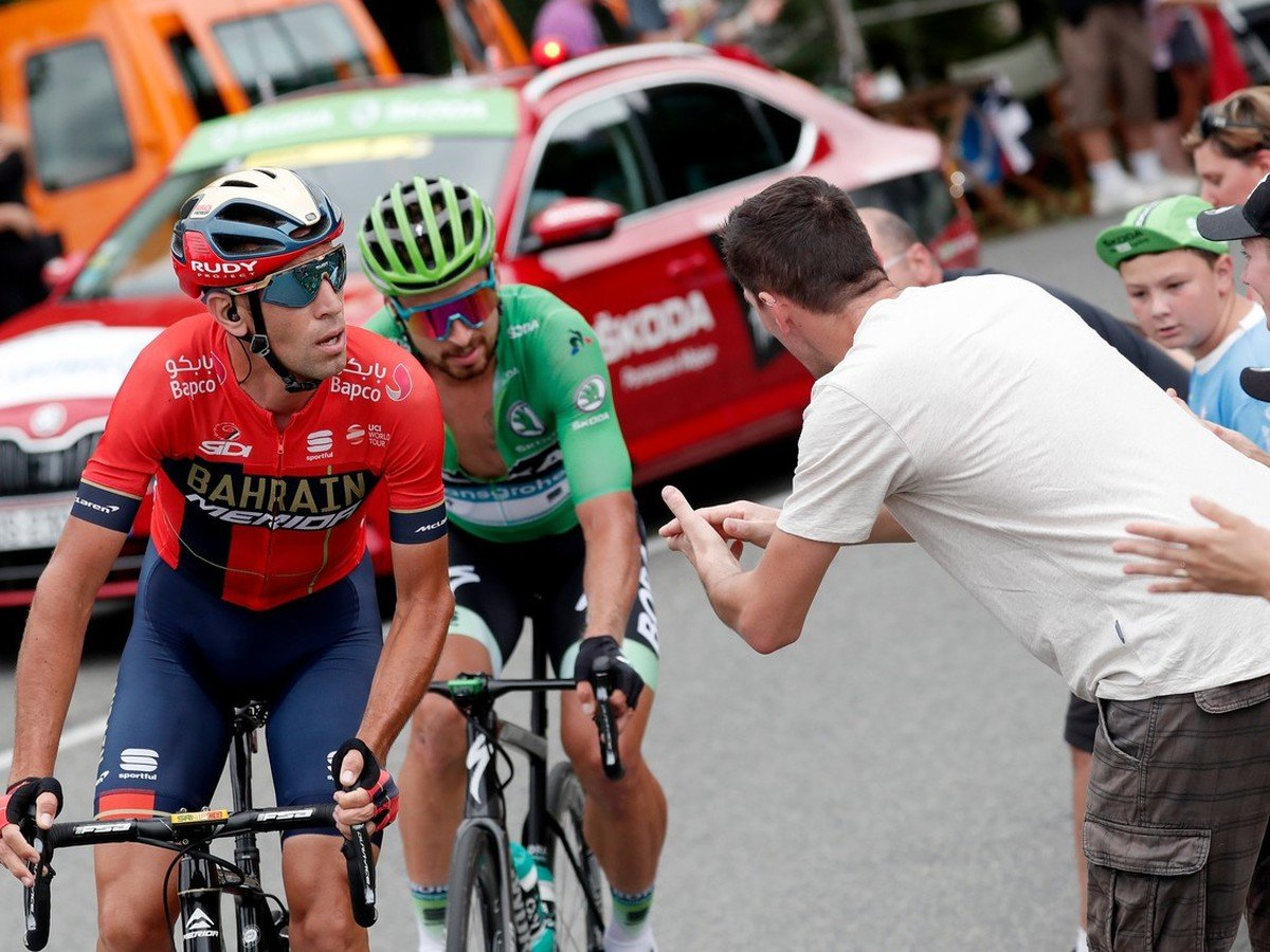 Vincenzo Nibali a Peter Sagan