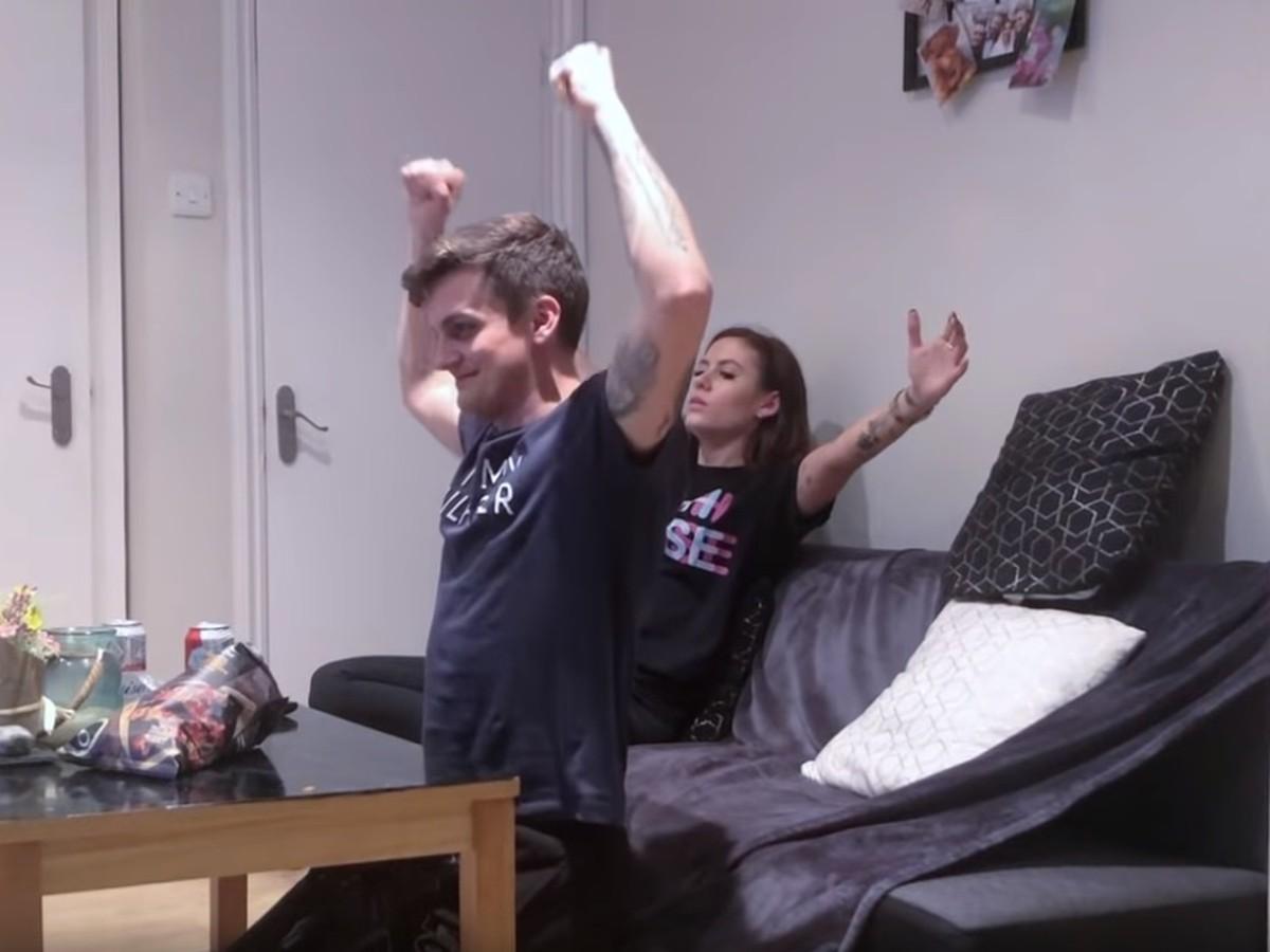 mladá priateľka video veľký péro domáce video