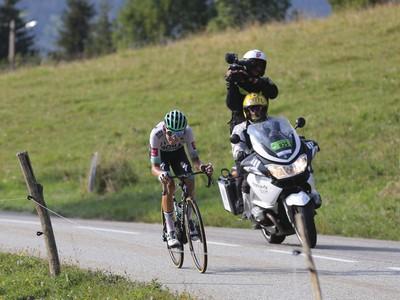 Nemecký cyklista Lennard Kämna