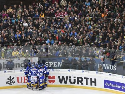 Gólové oslavy hokejistov Davosu