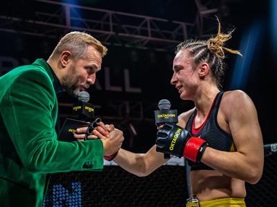 Lucie Pudilová po náročnom dni zažila víťaznú premiéru v Oktagone
