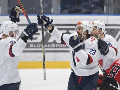 Gólové oslavy hokejistov HC