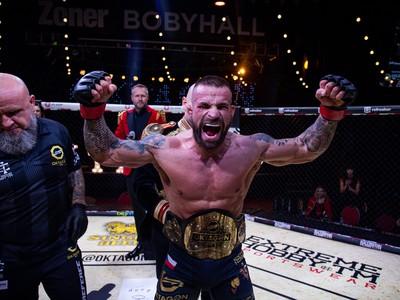 Karlos Vémola získal titulový opasok vo váhovej kategórii do 84 kg