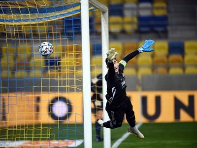 Prekonaný brankár Slovana Dominik Greif