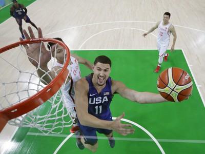 FOTO Američania v basketbale