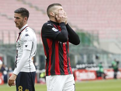 Ante Rebič reaguje v zápase s Janovom