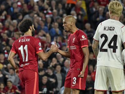 Mohamed Salah a Fabinho