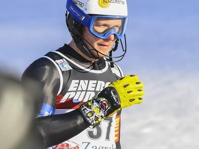 Na snímke slovenský lyžiar