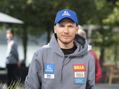 Na snímke slovenský reprezentant v alpskom lyžovaní Adam Žampa