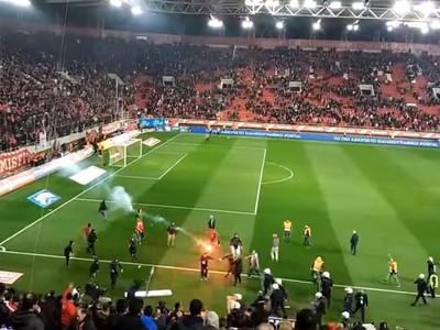 Výtržnosti fanúšikov na zápase