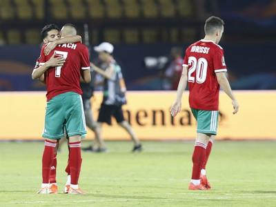 Frustrovaní futbalisti Maroka po