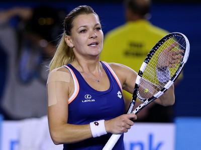 Poľská tenistka Agnieszka Radwanská