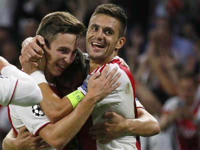 Radosť hráčov Ajaxu
