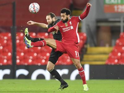 Mohamed Salah a Daley Blind
